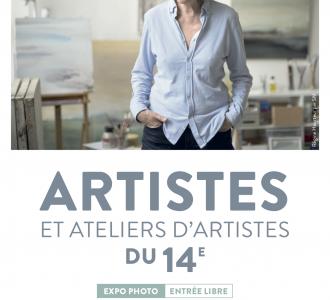 Annexe de la Mairie du 14ème : ARTISTES ET ATELIERS D'ARTISTES DU 14e