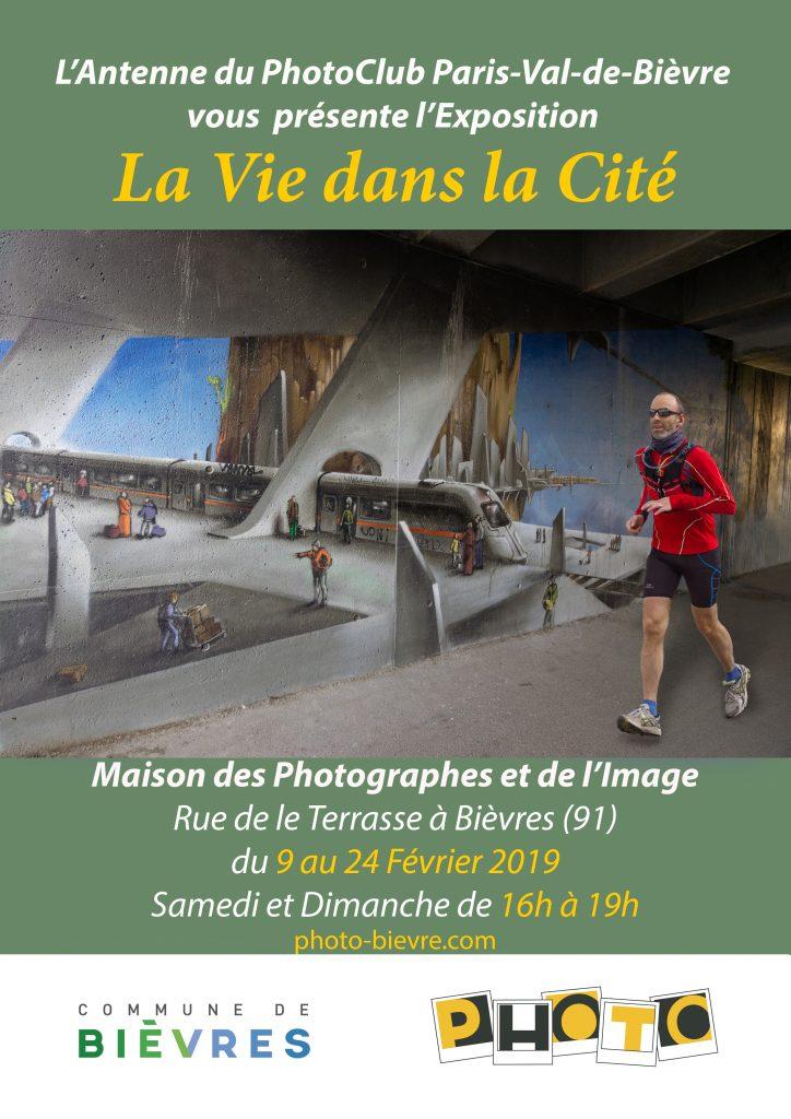 Affiche Expo La Vie dans la Cité