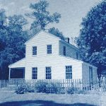 Jean-Yves Busson_ Texas John French Jay House  Beaumont (Cyanotype classique Canson Montval)
