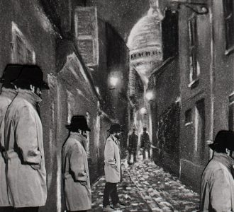"""Galerie Daguerre : exposition """"Meurtre au labo… ambiance polar…"""" du 01 juillet au 31 août."""